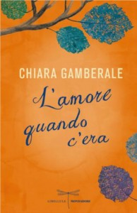 Il nuovo libro di Chiara Gamberale