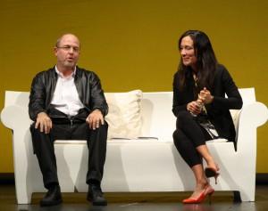 Chiara Gamberale e Massimo Gramellini