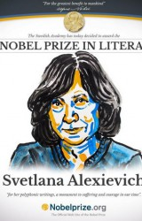 Svetlana Alexievich: Premio Nobel per la Letteratura 2015