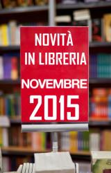 Novità editoriali Novembre 2015, Parte I