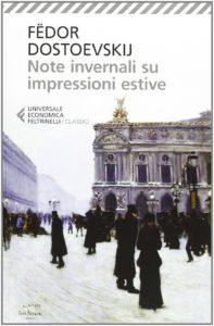 Note invernali su impressioni estive libro Dostoevskij