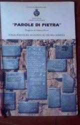 """Intervista a Sabina Perri, autrice de """"Parole di pietra"""" stele poetiche scolpite su pietra serena"""