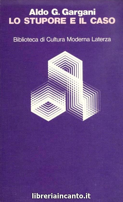 copertina - Lo stupore e il caso