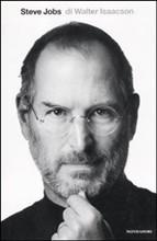 copertina - Steve Jobs un libro di Walter Isaacson