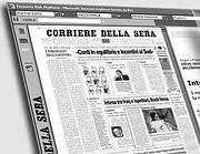 Il Corriere della Sera nell'Edicola digitale
