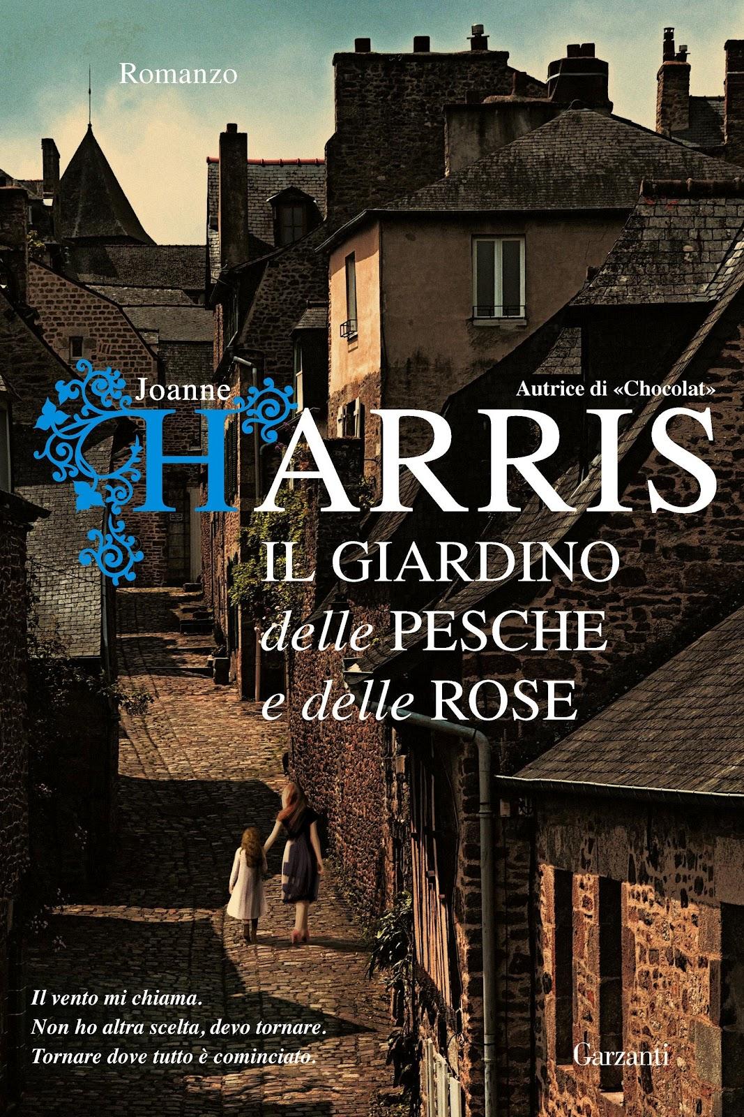L'attesissimo ritorno di Joanne Harris. Dopo il celeberrimo romanzo Chocolat, l'autrice torna in libreria l'8 novembre con Il giardino delle pesche e delle rose