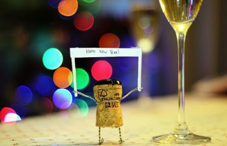 Libri, lenticchie e cotechino... buon anno!