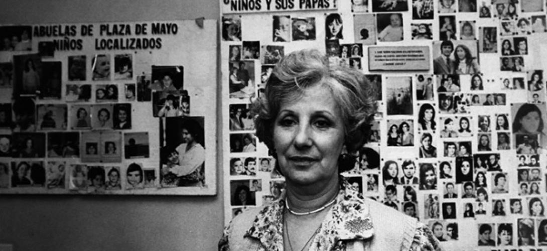 In foto: Estela Carlotto, la protagonista dell'opera