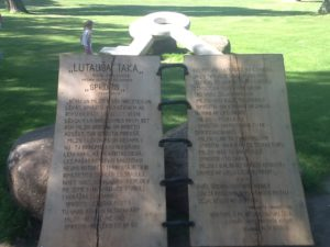 Monumento a Sprīdītis