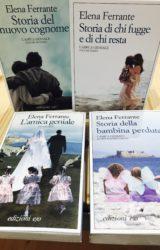 """Elena Ferrante: quadrilogia de """"L'Amica Geniale"""""""