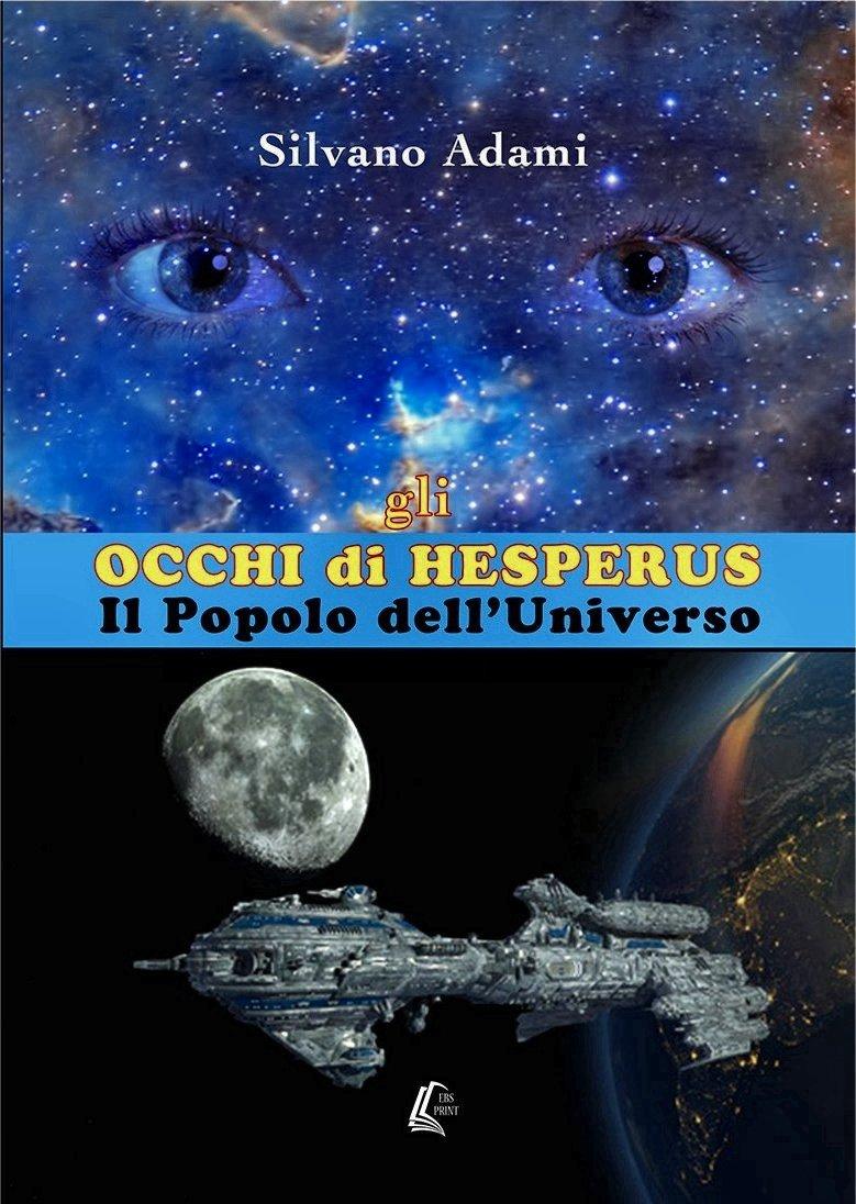 copertina Gli Occhi di Hesperus - Silvano Adami