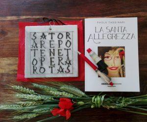 Copertina La santa allegrezza di Paola Tassinari