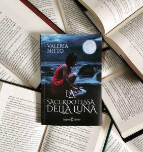 Copertina La Sacerdotessa della luna di Valeria Nitto