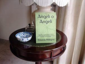 Copertina Angeli o Angeli di Edoardo Pellegrini