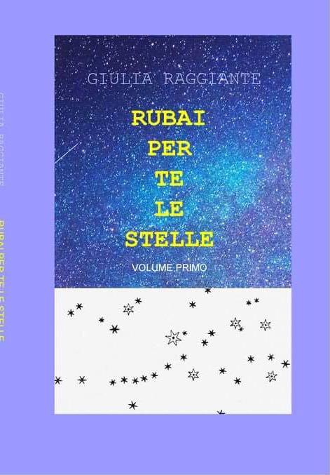 Copertina di Riubai per te le stelle di Giulia Raggiante