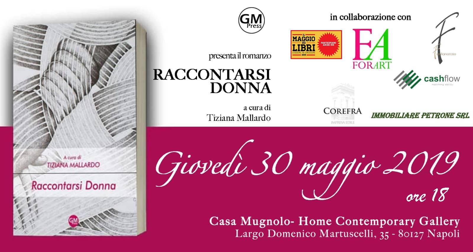 'Raccontarsi Donna' fa tappa a Napoli