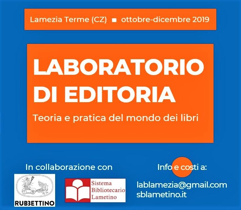 In Calabria un nuovo Laboratorio di editoria